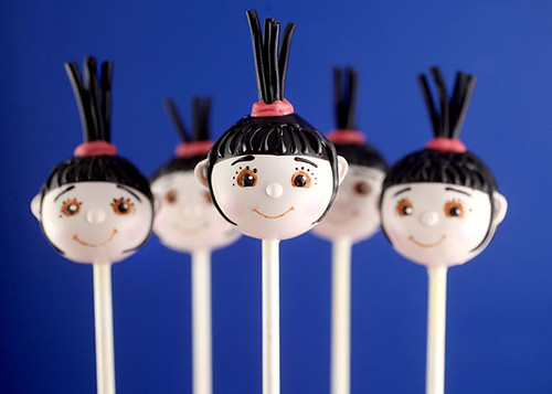 Agnes Cake Pops | by Bakerella