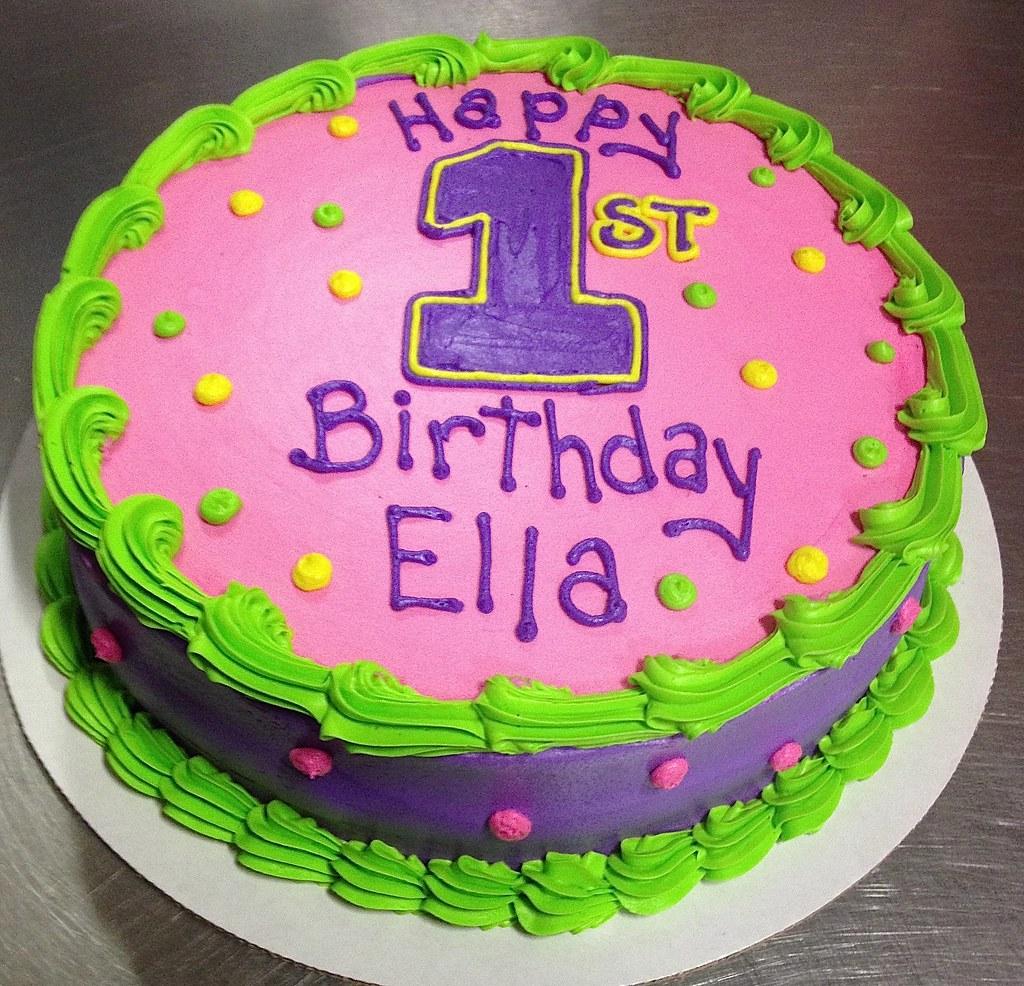 First Birthday Cake Robin Schantz Flickr