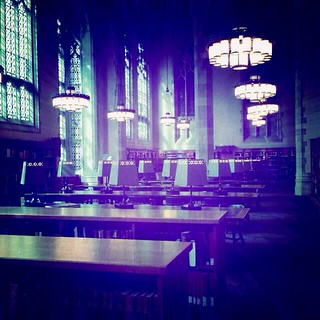 Sterling Memorial Library reference room | by knitwick