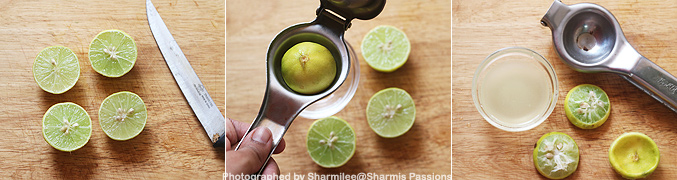 How to make Lemon soda recipe - Step1