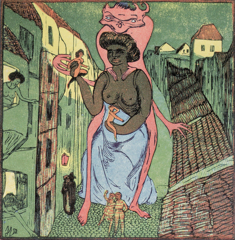 Josef Vachal - The Cloaca of the Street, 1910