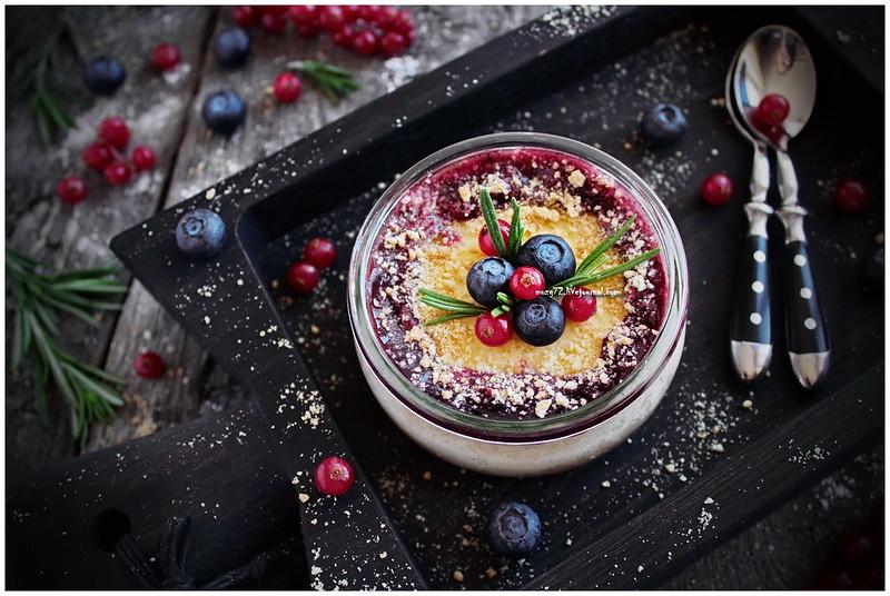 ...blueberry cheesecake jar_