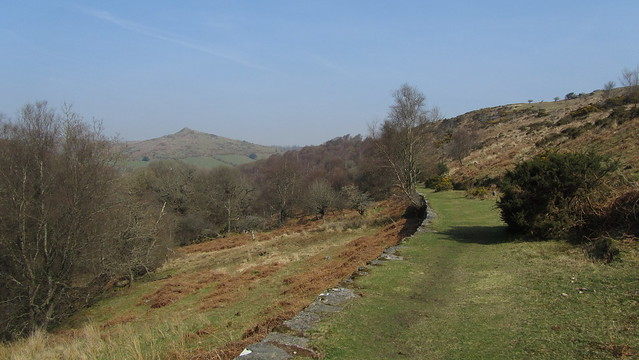 The track below Bench Tor