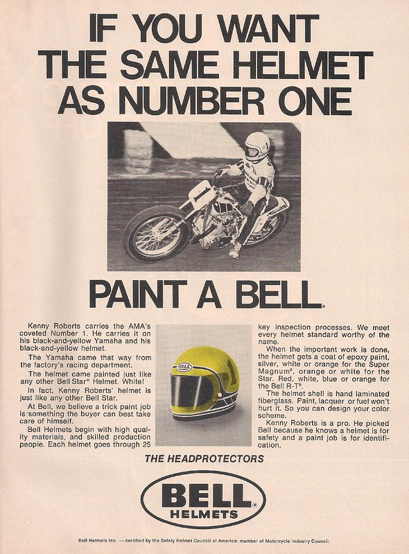 Bell helmets Kenny Roberts