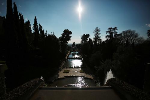Fontana e giochi d'acqua