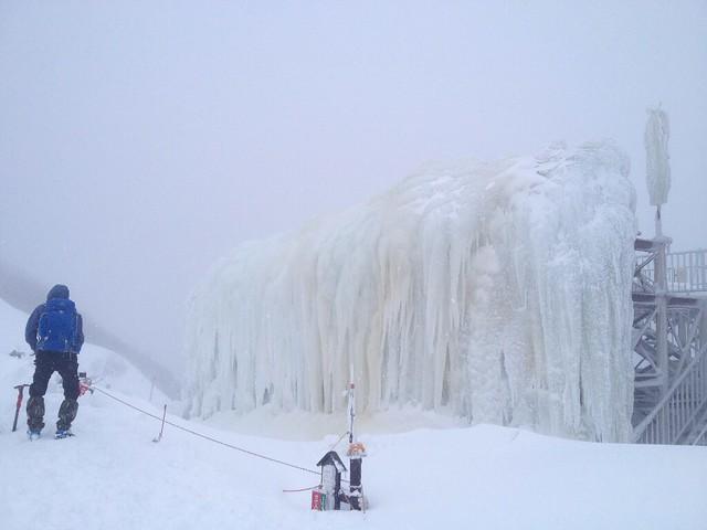 御在所岳 氷瀑