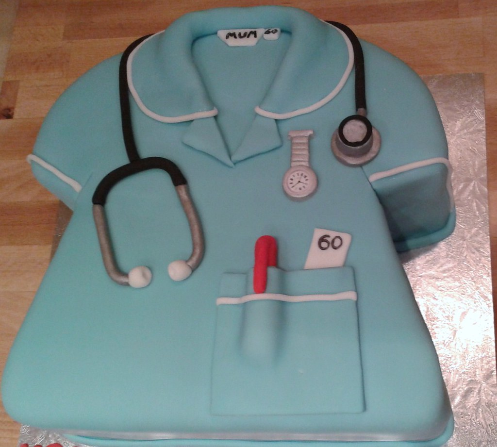 Image: Nurse Birthday Cake   Cath Field   Flickr
