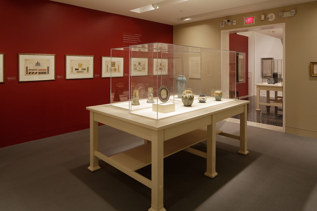 ... Newcomb Pottery Exhibition At The Wolfsonian | By SITES Exhibitions