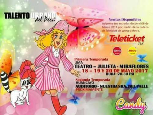Candy El Musical | Teatro Julieta