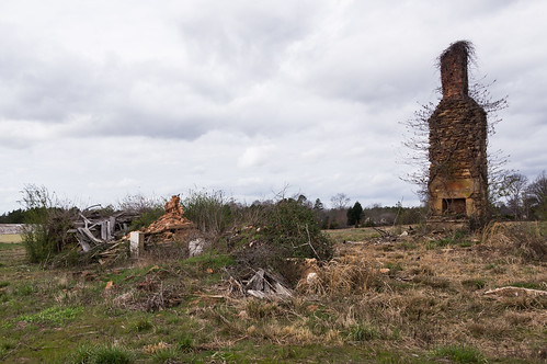 Gary Armstrong Road home ruins - 1