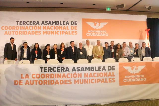 Tercera Asamblea de la Coordinación Nacional de Autoridades Municipales