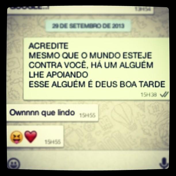Mensagens Do Whatsapp Whatsapp Wonderland Amor Love D Flickr