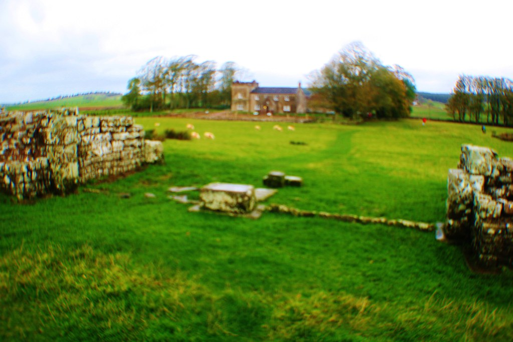 South Gate at Birdoswald Roman Fort, Hadrian's Wall