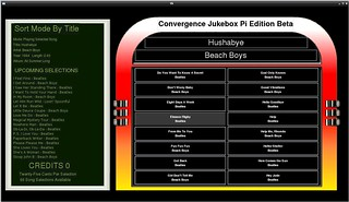3rd Jukebox Gui Image From Raspberry Pi | by Bradley Fortner