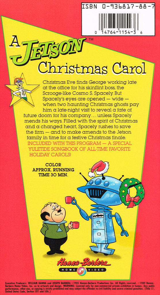 Hanna-Barbera Home Video # HB 1154 - A Jetson Christmas Ca… | Flickr