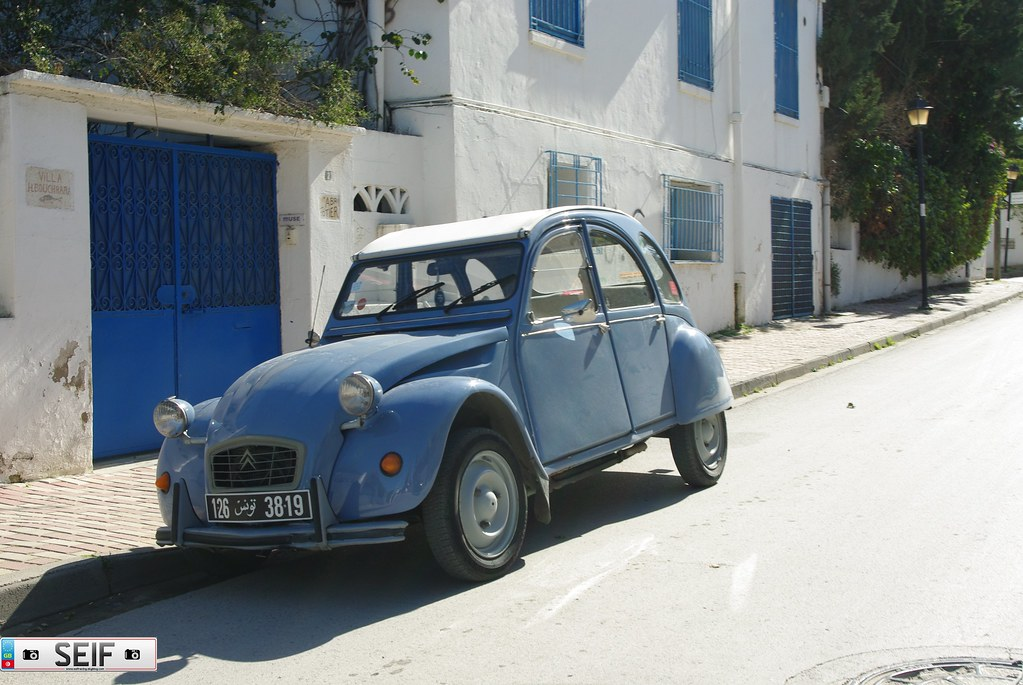 citroen 2cv tunisie