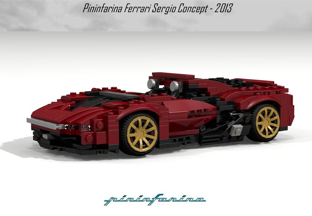 Ferrari Pininfarina Sergio Concept 2013 Text Courtesy Of Flickr