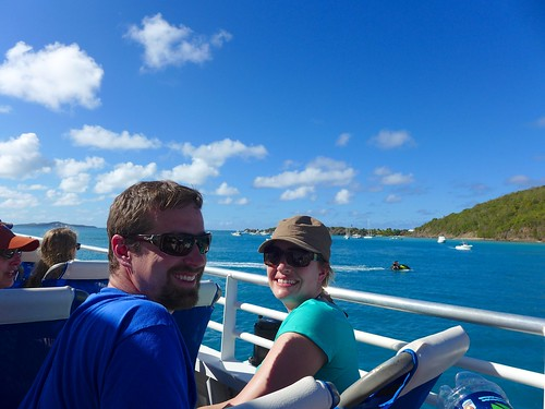Andy and Alissa on the Catamaran | by greggburch