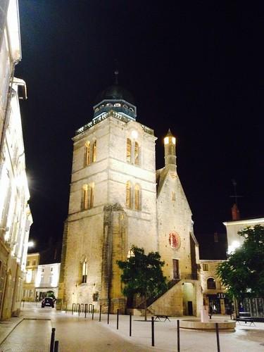 Ambiance nocturne centre ville paray le monial fr71 - Piscine paray le monial ...