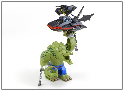 The LEGO Batman Movie 70907 Killer Croc Tail-Gator 33