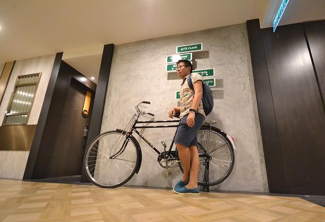 hotel jen penang hallway