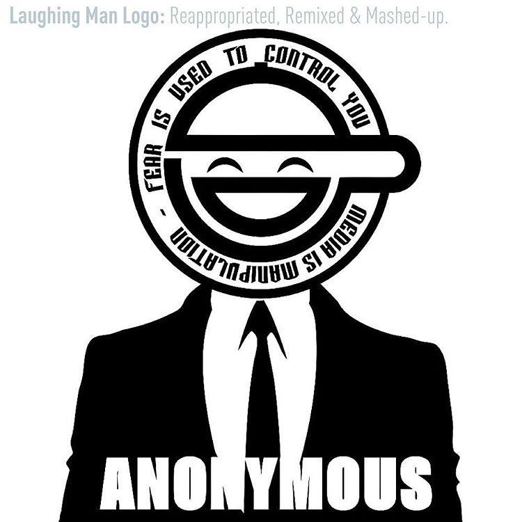 THE LAUGHING MAN LOGO