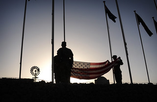 Raising the flag | by The U.S. Army