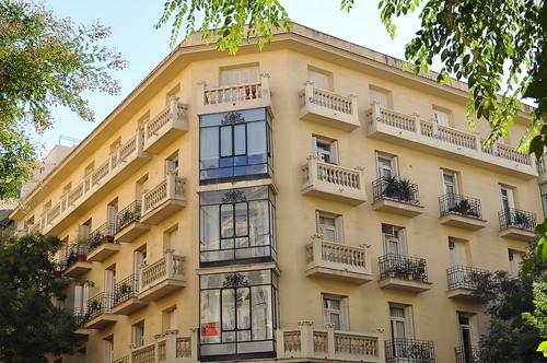 Edificio calle hermosilla cruce con calle castell madri - Calle castello madrid ...
