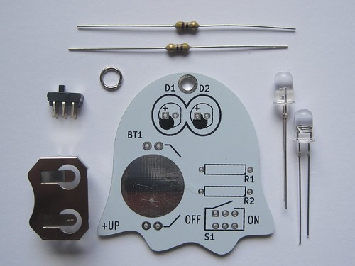 Ghost kit parts | by Low Voltage Labs
