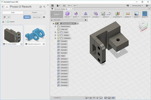 3D Design by fusion 360