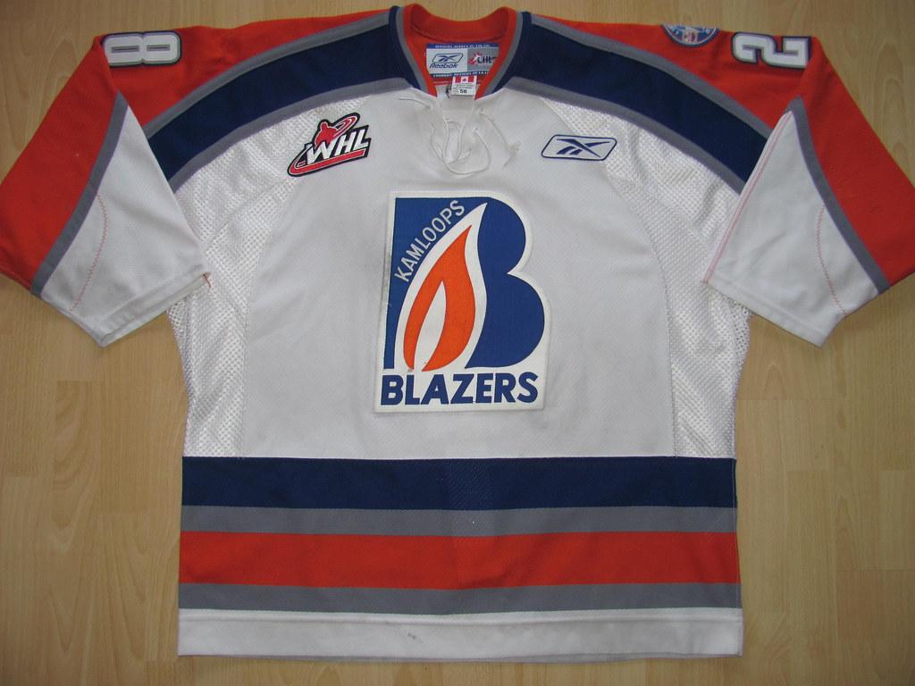 ... kirusgamewornjerseys Kamloops Blazers 2006 - 2007 Game Worn Jersey  79cb1646b