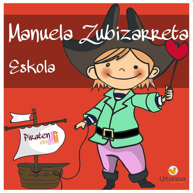 Pirata Egonaldia- Manuela Zubizarreta Eskola 2017/03/13-2017/03/15