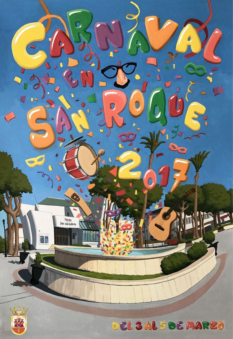cartel carnaval 2017 SIsan roque1