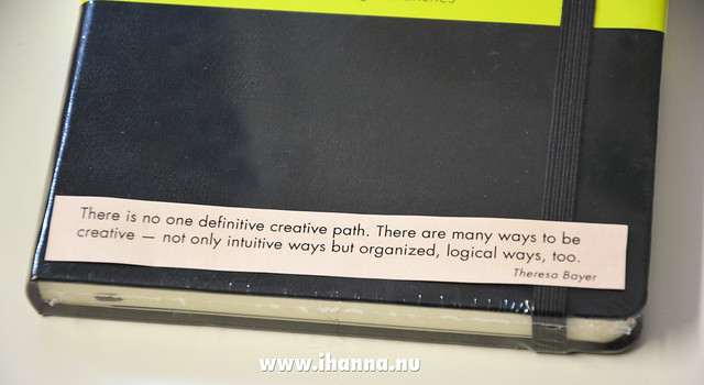 Quotes fit your Moleskine perfectly - from iHanna #printable