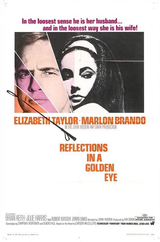 Reflections in a Golden Eye - Poster 1