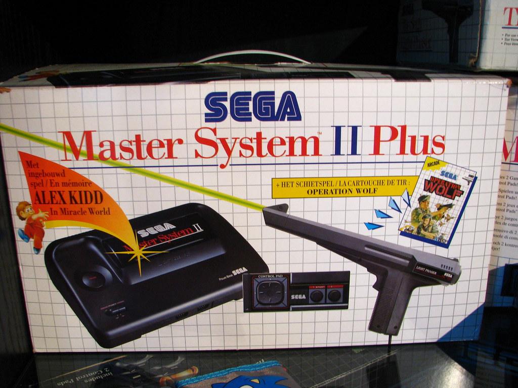 Sega Master System Ii Plus Set Dennis Vallaeys Flickr