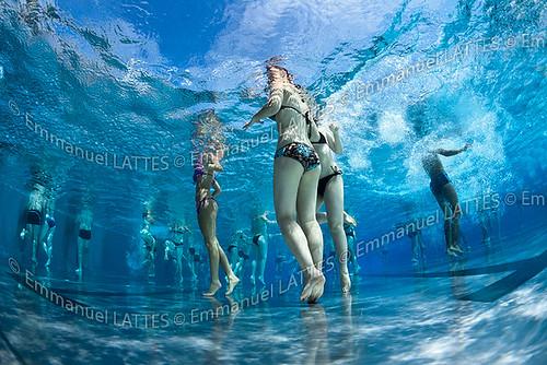 Baigneurs dans une piscine en ext rieur bellerive sur all for Bellerive sur allier piscine