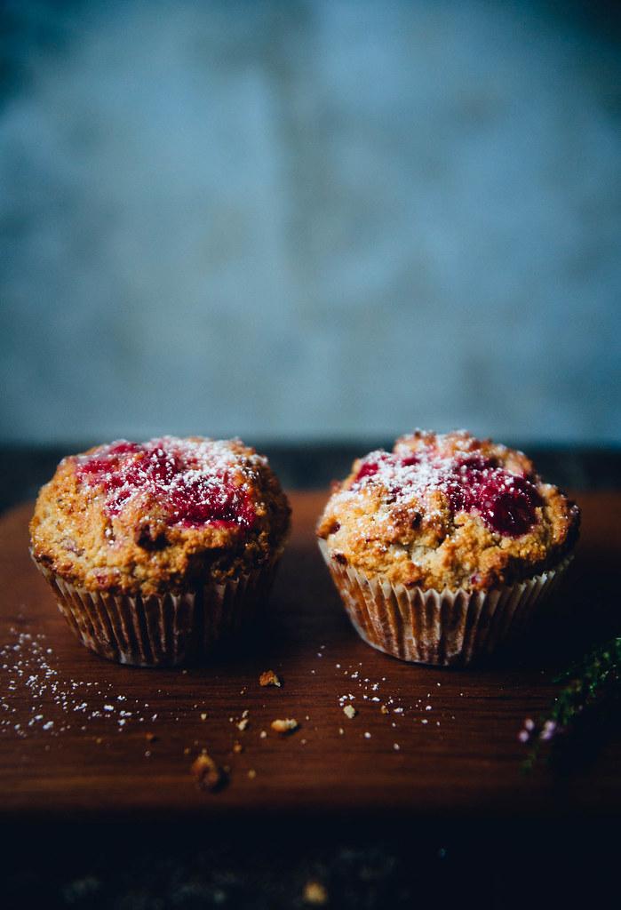 Parsnip & Lingonberry Muffins | Cashew Kitchen