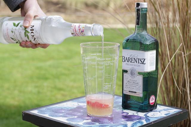Jasmine Fizz Cocktail - Monin Syrup