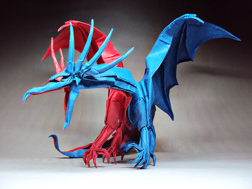 origami ancient dragon instructions