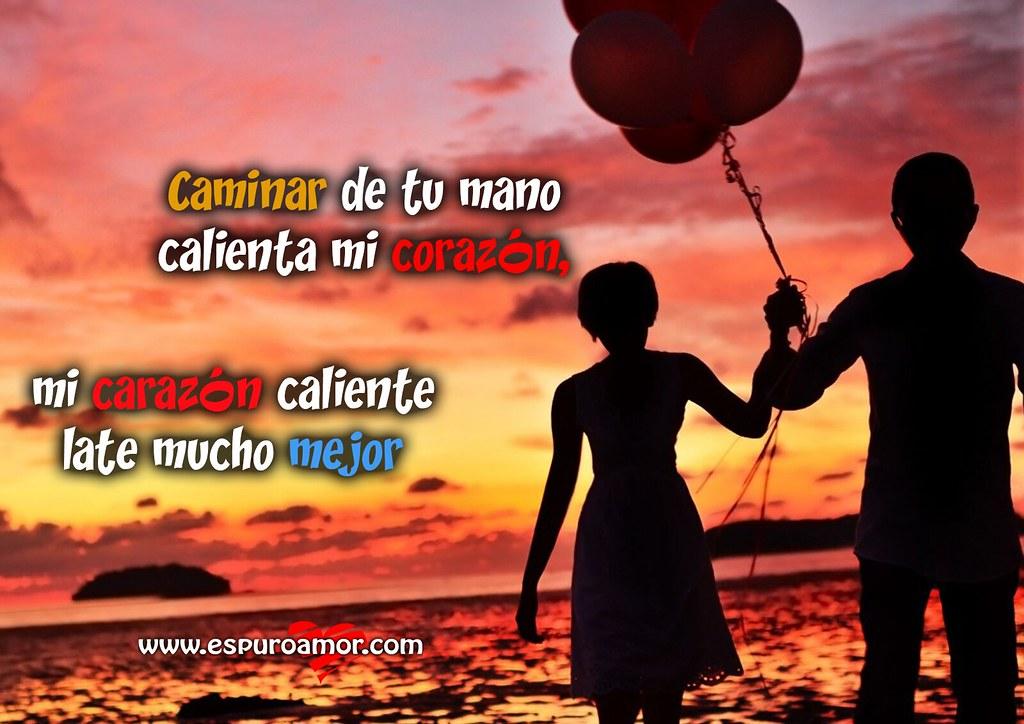 Frases De Amor 5 Imagenes Con La Palabra Corazon Para Cel Flickr