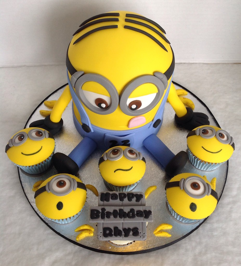 Minion Dave Cupcakes Liz Flickr