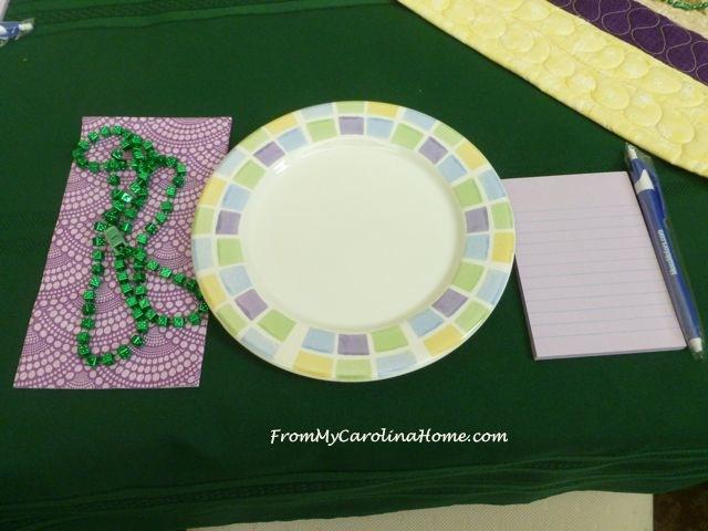 Mardi Gras Meeting table 2