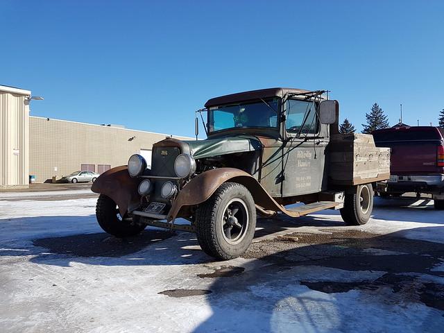 Hot Rod pickup truck