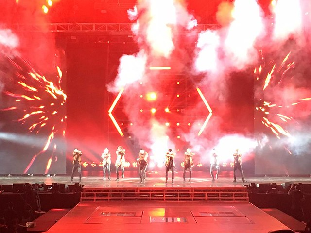 170227 Araneta Coliseum Facebook Update with EXO
