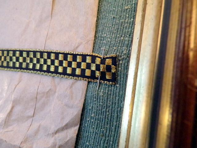Ribbon and Fabric Detail
