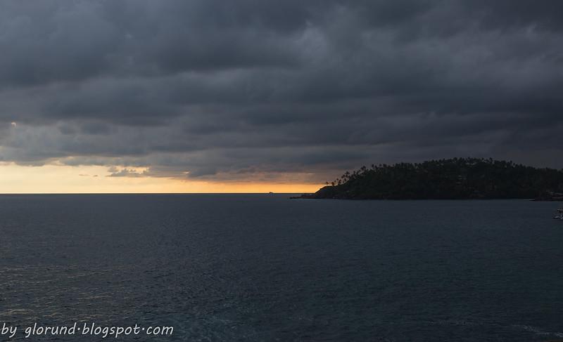 sunset on Lanka