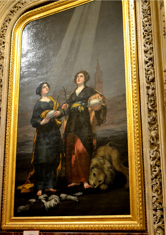 Santas Justa y Rufina de Francisco de Goya