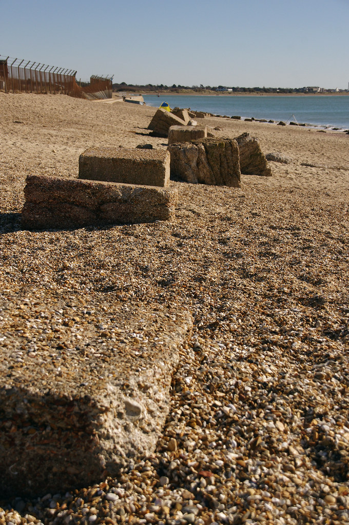 Eastney nudist beach