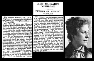 29th March 1931 - Death of Margaret McMillan | by Bradford Timeline